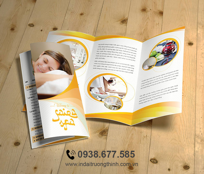 In brochure spa
